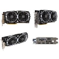 預訂中 微星 MSI GeForce GTX 1060 ARMOR 6G OCV1/6G DDR5 顯示卡