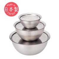 【有元葉子la base】日本製高品質304不鏽鋼調理碗/調理盤/調理盆(超值六件組)