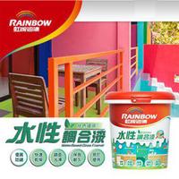 虹牌A160水性環保調和漆 揮別傳統刺鼻溶劑味 【漆太郎】
