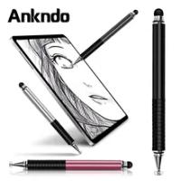 ANKNDO 2in1 ปากกา Stylus สำหรับแท็บเล็ต Apple Touch ปากกา Capacitive หน้าจอดินสอสำหรับ IPhone โน้ตบุ๊ค Samsung เขียนปากกา