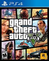 秋葉電玩  PS4《俠盜獵車手 5 GTA5 》中英文版 SONY