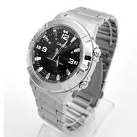CASIO手錶 指針數位雙顯不鏽鋼錶【NECE29】