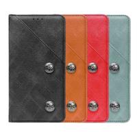 LG V10 V20 V30 V30+ V30s V40 V60 ThinQ 皮革保護套復古隱藏微磁扣設計翻蓋式皮套