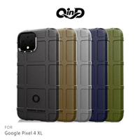 【愛瘋潮】99免運 QinD Google Pixel 4 XL 戰術護盾保護套 背蓋 TPU套 手機殼 保護殼 鏡頭保護