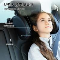 汽車頭枕車用睡覺神器兒童護頸枕車上安全座椅側護翼車載側睡靠枕