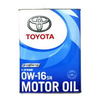 TOYOTA 0W16 日本豐田 原廠機油 4L