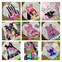 Summer Sexy Pajamas Sling Pajama Dress Custom Print Pattern Onesie Sleepwear For Women