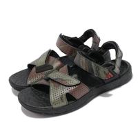 【NIKE 耐吉】涼鞋 ACG Air Deschutz 運動 男女鞋 富士山 迷彩 輕便 戶外 舒適 情侶穿搭 黑 綠(CZ3776-001)