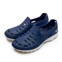 【LOTTO】男 晴雨穿搭戶外休閒運動涼鞋 ROSSA系列(藍灰 2336)