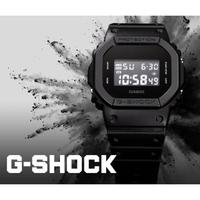 【CASIO 卡西歐】G-SHOCK 經典人氣電子錶(DW-5600BB-1)