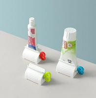 PS Mall【J359】擠牙膏器 零食袋封口 擠壓器 密封夾 創意軟管擠壓器