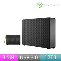 (贈TP-Link智慧插座)【SEAGATE 希捷】新黑鑽Expansion 12TB USB3.0 3.5吋外接硬碟(STEB12000400)