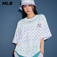 【MLB】短袖T恤 炫彩老花Monogram系列 紐約洋基隊(31TSMC131-50U)