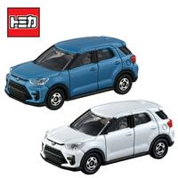 【日本正版】兩款一組 TOMICA NO.8 豐田 RAIZE Toyota 休旅車 玩具車 多美小汽車 - 175568