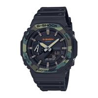 CASIO卡西歐G-SHOCK 迷彩八角型錶殼 GA-2100SU-1A_45.4mm小AP農家橡樹*錶咖時計*