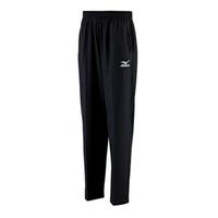 【MIZUNO 美津濃】Mizuno    男女 運動 休閒 慢跑 路跑 訓練 健身 輕量 柔軟 針織 長褲 黑(32TD408409)