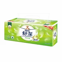 【舒潔】棉柔舒適抽取衛生紙110抽x12包x6串/箱(共72包) 免運
