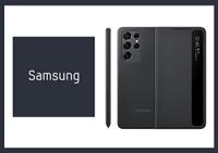 SAMSUNG Galaxy S21 Ultra 5G 原廠透視感應皮套 黑_附S Pen(台灣公司貨)