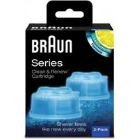 德國百靈 Braun CCR2 匣式清潔液 (2入組)  電動刮鬍刀適用 原廠配件