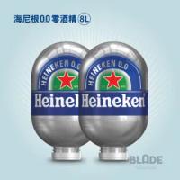 【Heineken 海尼根】BLADE 0.0 桶裝(八公升x2桶)