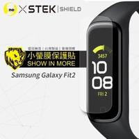 【o-one台灣製-小螢膜】Samsung Galaxy Fit2 滿版螢幕保護貼 兩入組(曲面 軟膜 SGS 自動修復)