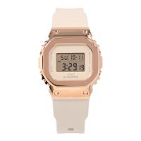 卡西歐G-SHOCK金屬錶殼玫瑰金方塊女手錶GM-S5600PG-1/4/S56000-7