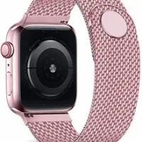 Magnetic Loop สำหรับ Apple Watch Band 44มม.40มม.Iwatch 38Mm 42Mm นาฬิกาเข็มขัดสร้อยข้อมือ apple Watch Serie 6 Se 5 4 3 2