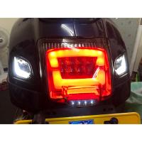 台南VOS偉士車坊-Vespa GTS GTV 導光尾燈 導光方向燈 Led方向燈 Led尾燈 煞車燈