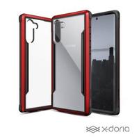 【x-doria】SAMSUNG Galaxy Note20 5G 極盾SHIELD鋁合金防摔手機殼 - 熱情紅(軍規防摔認證 MIL-STD-810G)