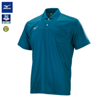 男款短袖POLO衫 32TA151732(藍綠)【美津濃MIZUNO】