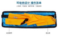 成人便攜式自動充氣救生衣腰帶救生圈船用專業救生衣釣魚輕便便攜