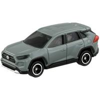 小禮堂 TOMICA多美小汽車 Toyota RAV4 休旅車 玩具車 模型車 (81 灰)