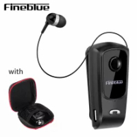 Fineblue F910 F920 F980 F990 F1pro F2pro wireless bluetooth headset sports driver headset business headset with stereo With bag