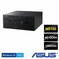 【ASUS 華碩】VivoMini PN41 迷你效能電腦(N5100/4G/128G SSD/W10pro)