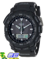 [美國直購 USAShop] Casio 手錶 Men's PRG550-1A1CR Pro Trek Triple Sensor Tough Solar Analog-Digital Watch