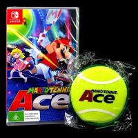 Nintendo Switch 瑪利歐網球 王牌高手 中文版全新品【附特典迷你網球包】台中星光電玩