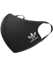 【毒】Adidas 三線 Face Covers 口罩 HC4704 M / L黑色 一包三入
