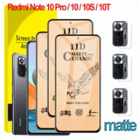 Xioami Redmi Note 10 Pro Matte Frosted Glass Redmi Note 10 Pro 128 gb global Screen Protector RedmiNote 10 Pro Redmi Note10 Note 10S 10T 5G Soft Protective Film For Xiaomi Redmi Note10 Pro Ceramic Glass
