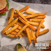 【富統食品】瓜瓜園脆皮地瓜薯條600G/包(14mm)