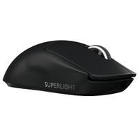羅技 G Pro X Superlight 電競滑鼠(黑色)/無線/25600Dpi/超輕量63g/欣亞數位