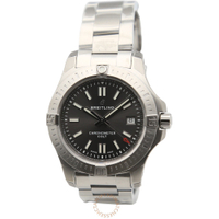 【BREITLING 百年靈】COLT 41 GREY DIAL AUTOMATIC 挑戰者自動腕錶