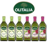 【Olitalia奧利塔】精緻橄欖油+葡萄籽油禮盒組(1000mlx2瓶 x 3組)