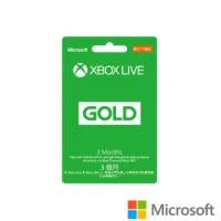 【Microsoft 微軟】XBOX LIVE 3個月金會員 數位下載版(購買後無法退換貨)