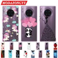 Huawei Mate 30 Case Mate30 Case Silicone TPU Phone Case For Huawei Mate 30 Pro Mate30Pro Case Soft Back Protective Cover