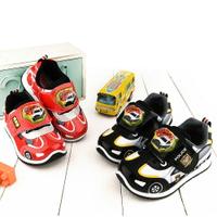 Tomica多美車 警車款 LED電燈運動鞋 中童 TM7724 紅/黑(共二色)【童鞋城堡旗艦店】