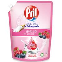 Pril 淨麗 小蘇打高效洗碗精 莓果 補充包 1L
