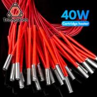 Trianglelab 3D Máy In 6*20 Mm 12V/24V 40W Nóng Hộp Mực Với 100 Cm cho 3D Máy In PT100 Hotend Núi Lửa MK8 MK9