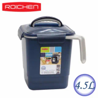 【韓國ROICHEN】廚餘回收桶(藍色4.5L)