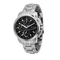 刷卡滿3千回饋5%點數|MASERATI 瑪莎拉蒂 SUCCESSO 光動能三眼計時腕錶44mm(R8873645003)