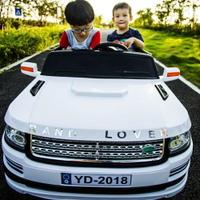 兒童電動車 超大越野雙座 兒童電動車四輪遙控汽車兩人雙人兒童玩具可坐大人【全館82折】
